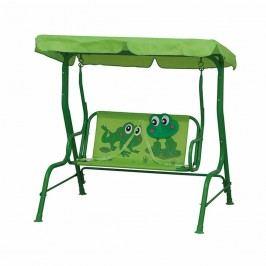 Siena Garden Froggy Kinderschaukel 117x77x107cm Stahl Grün