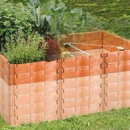 Juwel Hochbeet-Aufbausatz 121x190x26cm Kunststoff Terracotta