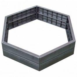 Graf Ergo-Hochbeet-System 110x110x25cm Kunststoff