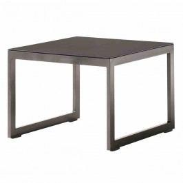 Sieger Sydney Tisch 60x60x44cm Aluminium/Glas Eisengrau