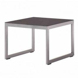 Sieger Melbourne Tisch Ř60cm Aluminium/Glas Eisengrau