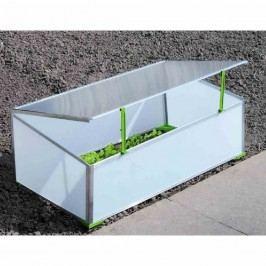 Gutta Frühbeet 1-Fach 98,5x58x38,5cm Aluminium
