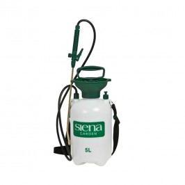 Siena Garden Drucksprüher, Fassungsvermögen 5 Liter Kunststoff Weiß/Grün