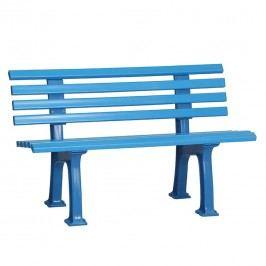Blome Ibiza Bank 120x54x74cm Kunststoff Hellblau