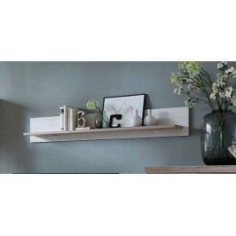 Wandboard Pino Aurelio/ Eiche Sanremo Ideal Möbel Bana Weiß Holz Modern