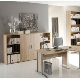 Highboard Eiche Sonoma Bega Office Line Modern