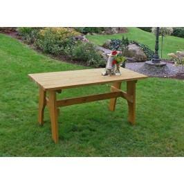 Gartentisch 200 X 70 Cm Kiefer Massiv Frg - Handels Gmbh Freital Braun Holz Neutral