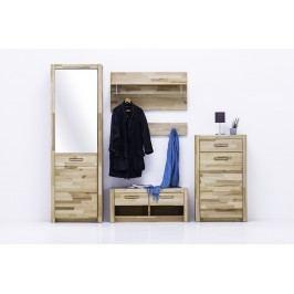 Garderobe Kernbuche Massiv Geölt Mca Direkt Fenja Holz Modern