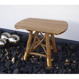 Gartentisch 70 X 100 Cm Eiche/ Buche Frg - Handels Gmbh Mosel Holz Neutral
