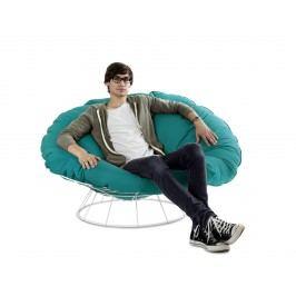 Outdoor Sessel Loungesessel Sitzsack Blau Sitting Bull Bull´s Nest Acryl Modern