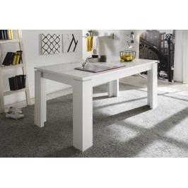 Esstisch 160 X 90 Cm Ausziehbar Weiss Trendteam Universal Weiß Holz Modern