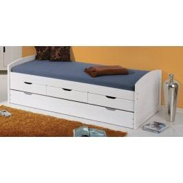 Bett 90 X 200 Cm Massiv Weiss Lackiert Inter Link Ulli Weiß Holz Modern