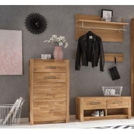 Garderobe Wildeiche Teilmassiv Geölt Mca Direkt Fenja Holz Modern