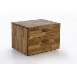 Nachtkommode Wildeiche Massiv Geölt Natur Vs-Furniture Holz Modern