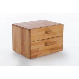 Nachtkommode Kernbuche Massiv Geölt Natur Vs-Furniture Holz Modern