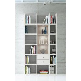 Regal Weiss/ Eiche Natur Fif Möbel Toro Modern