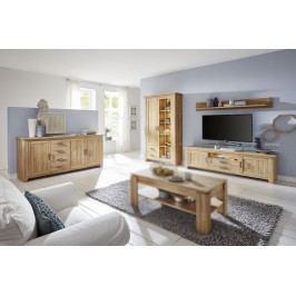 Esszimmer 4-Tlg In Alteiche Trendteam Canyon Holz Modern