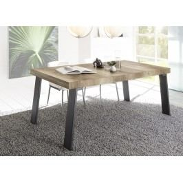 Esstisch 168 X 88 Cm Canyon Oak Nachbildung/ Metallfüsse Classico Palma Holz Modern