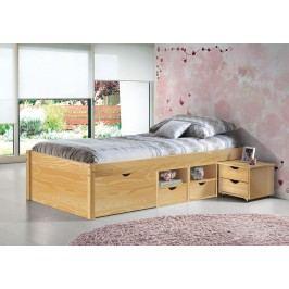Bett 90 X 200 Cm Kiefer Massiv Natur Lackiert Inter Link Claas Holz Modern