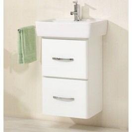 Waschtischlösung 50 Cm Pelipal Piolo Weiß Chrom Modern
