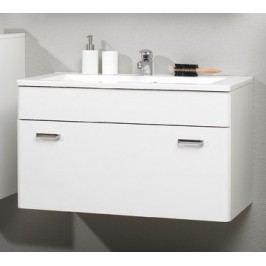 Mineral-Marmor-Waschtisch 90 Cm Pelipal Piolo Weiß Modern