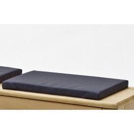 Sitzkissen Für Garderobenbank Mca-Furniture Onimoc Schwarz Kunstleder Neutral