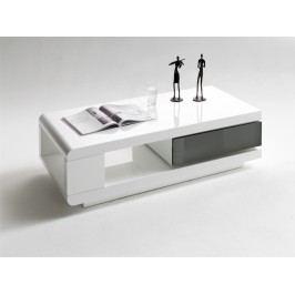 Couchtisch Weiss / Grau Hochglanz Mca-Furniture Frieda Weiß Mdf Modern
