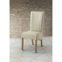 2er Stuhlset Mit Kunstlederbezug Beige Mca-Furniture Fridelino Modern