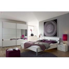 Schlafzimmer Mit Bett 180 X 200 Cm Alpinweiss Rauch Packs Quadra Weiß Holz Modern