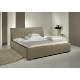Polsterbett Mit Kunstlederbezug Beige 160 X 200 Cm Meise.möbel Isa-Comfort Modern