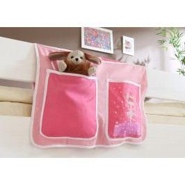 Bett-Tasche Für Hoch- Und Etagenbetten ´´zauberfee´´ Mvh-Ticaa Rosa Baumwolle Modern