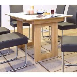 Esstisch 150 (200) X 90 Kernbuche Lackiert Massiv / Tischplatte Glas Weiss Standard Furniture Komforto 1 Xl Glas Holz Modern