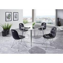 Tischgruppe Schwarz Top Form Pep 2/ Anja Polyurethan