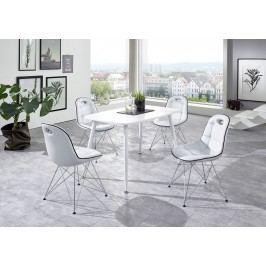 Tischgruppe Weiss Top Form Pep 2/ Anja Weiß Polyurethan