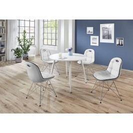 Tischgruppe Weiss Top Form Pep 1/ Anja Weiß Polyurethan
