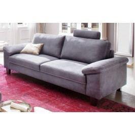 2 5-Sitzer Sofa In Mikrofaser Steel Candy Coast Blau Holz Modern