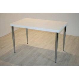 Tisch Mit Konisch Geformten Beinen Weiss/Chrom Top Form Mika Weiß Holz Modern
