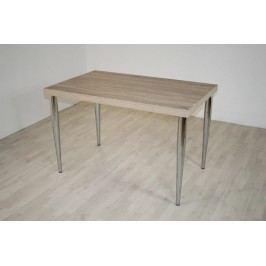 Tisch Eiche Sonoma/Silber Top Form Mats Sonoma-Eiche Holz Modern