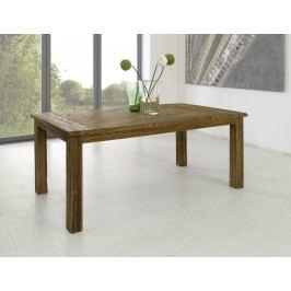 Tisch 200 X 100 Cm Teakholz Massiv Im Altholzlook Gewachst Henke Direkt Unikate Braun Modern