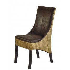 2er-Set Stuhl Eiche Kolonialfarbig Lackiert/ Dunkelbraun Henke Direkt Polyester Modern