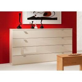 Kommode Creme Ultra Hochglanz Ms Schuon Comos Holz Modern