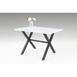 Esstisch Glanzweiss/Anthrazit Hela Eloise 2 T Weiß Holz Modern