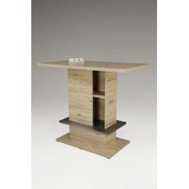 Bartisch Mit Ablage San Remo Eiche / Edelstahl Hela Mathilda Holz Modern