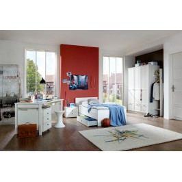 Jugendzimmer Mit Bett 90 X 200 Cm Alpinweiss Wimex Filou Weiß Modern