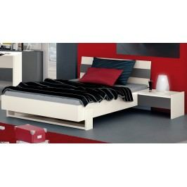 Bett 100 X 200 Cm Mit Nako Weiss/ Anthrazit Röhr Homeland Holz Modern