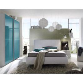 Jugendzimmer Mit Bett 140 X 200 Cm Weiss/ Türkis Classico Smart Melamin Modern