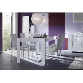 Esstisch 160 X 90 Cm Weiss Echt Hochglanz Lackiert Classico Eos Weiß Modern