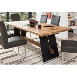 Esstisch 220 X 95 Eiche Geölt / Schwarz Standard Furniture Aladin Holz Modern