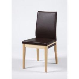 2er-Set Esszimmerstuhl Buche / Kunstleder Rehbraun Standard Furniture Santos Neutral