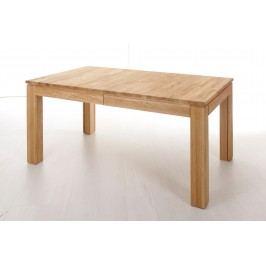 Esstisch 160 X 90 Cm Eiche Natur Lackiert Massiv Ausziehbar Standard Furniture Multi Xl Holz Neutral